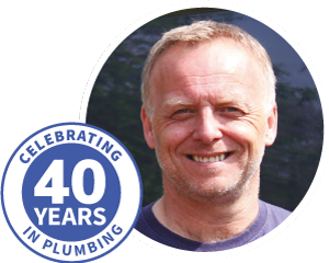 Danny Williams Plumbing celebrating 40 years